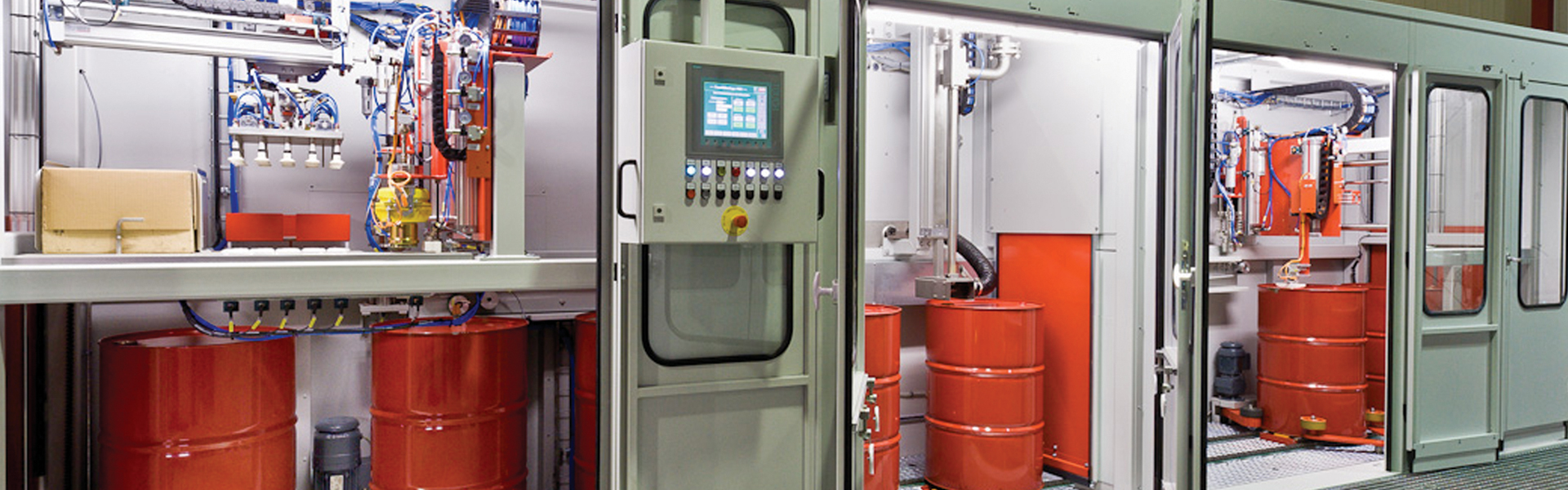 Specialist in filling systems for various types of liquids and bulk materials.